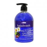 Pampered Fruit Handwash Blackcurrant, Cranberry , Chamomile for All Skins - 500ml