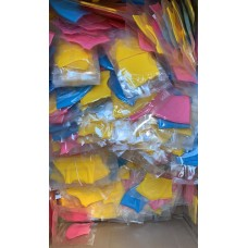 Kids Reusable Washable Breathable Face Masks  - Yellow , Pink, Blue  ( Individually Packed )