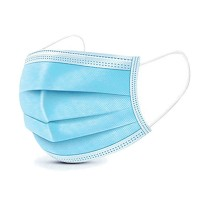 1 Pcs Disposable Mouth Face Masks - 3-layer Respirator Masks - Dust - Proof Personal Protection