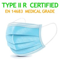 1 Pc Medical Surgical CE Mark EN14683 Mouth Face Mask - 3-layer