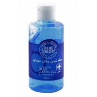 Blue Drop Anti-Bacterial Disinfectant Hand Sanitizer Gel 70% Alcohol  - 100ml