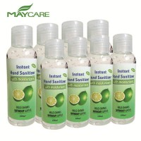 1x Maycare Instant Hand Sanitiser with Moisturiser Anti-Bacterial Disinfectant Hand Gel 70% Alcohol 100ml Bottle