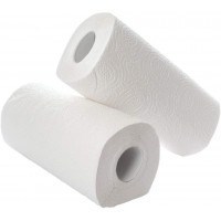 12 Rolls of  Kitchen Rolls  - White
