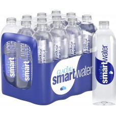 Glaceau Smart Water Still 12 x 600ml - in Pack of 1, 5, 10