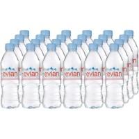 24 x Evian Mineral Water  500ml Bottles - 1, 5, 10 Packs